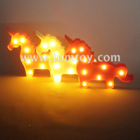 unicorn marquee led night light tm06499
