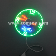 usb clock fan tm06678