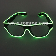 usb el wire led glasses tm04551