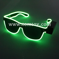 usb powered el wire shades glasses tm109-029-gn
