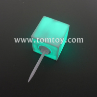 waterproof led cube with removeable spike tm06202