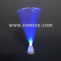 white fiber optic centerpiece lamp tm083-055