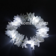 white led flower crown headband tm00710