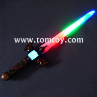 wholesale flashing colorful children plastic led sword tm03006