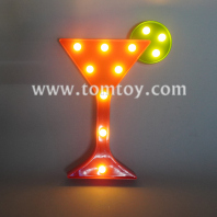 wine glass led night light tm06488