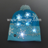 winter snowflake beanie hat tm06916
