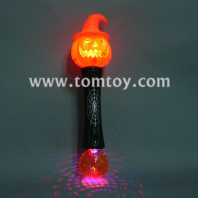 witchy pumpkin light up toy wand tm012-050-og