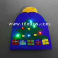xmas light up beanie hat tm06915
