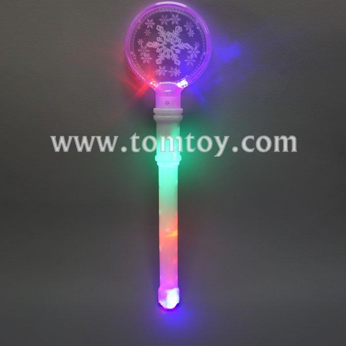 snowflake led light up wand tm04546.jpg