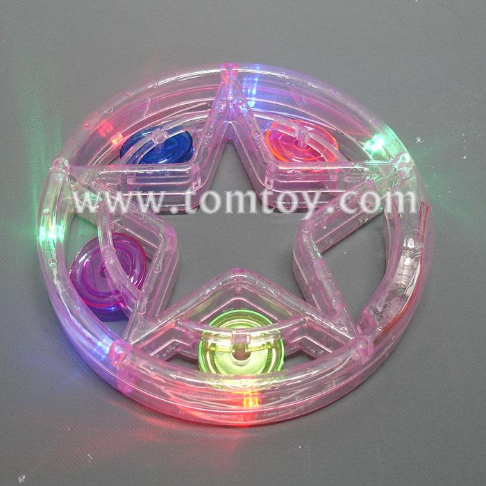 star led tambourine tm02367-pk.jpg