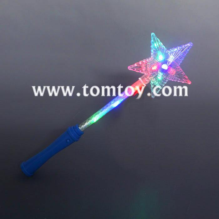 Wholesale led star light up wand tomtoy for Led wands wholesale